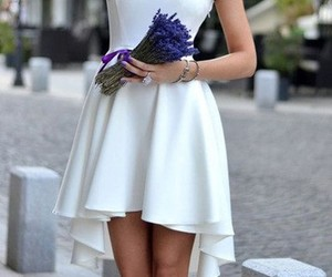 white homecoming dresses, a-line homecoming dresses, and 2017 homecoming dresses image
