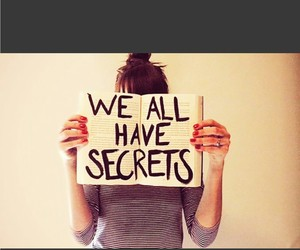 secret and quote image