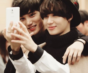 kai, Taemin, and exo image