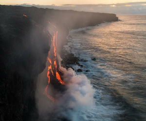 nature, photography, and lava image