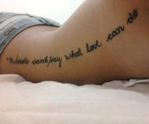 tattoo, words, and quotes image