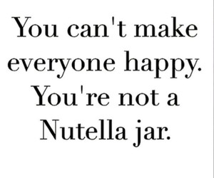 nutella, happy, and quotes image