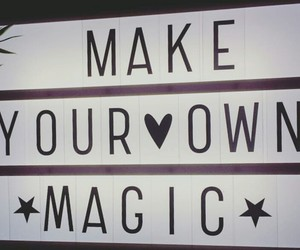 magic, make, and own image