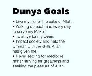allah, islam, and goals image