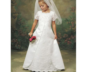 cute flower girl dresses image
