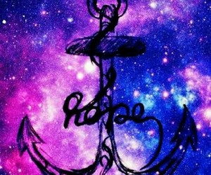 anchor, galaxy, and hope image