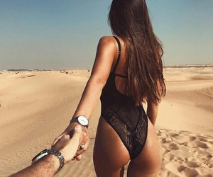 couple, summer, and goals image