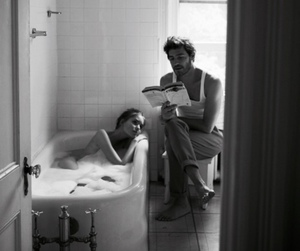 couple, tumblr, and vintage image