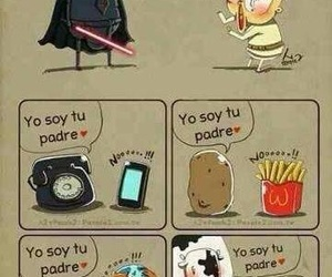 funny, father, and star wars image
