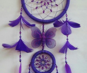 color, dream catcher, and purple image