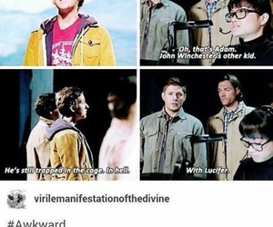 supernatural, adam, and dean winchester image