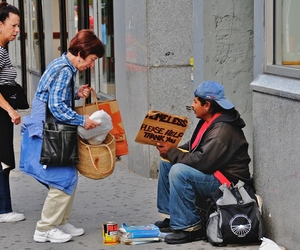 help poor people, how to help poor people, and care package for homeless image
