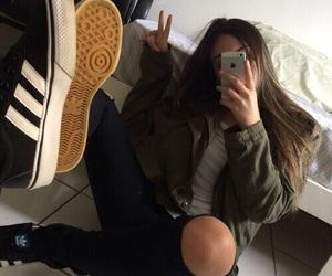 girl, adidas, and aesthetic image