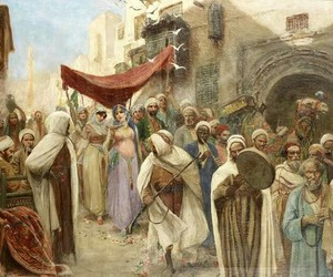 Algeria, art, and painting image