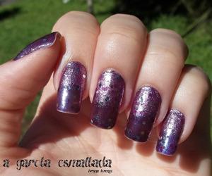 glitter, manicure, and nail polish image