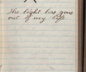 diary, light, and life image