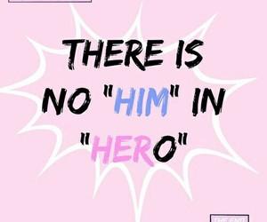 hero, her, and girl power image