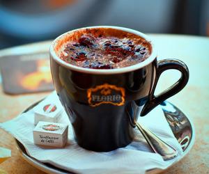 cafe, chocolate, and paris image