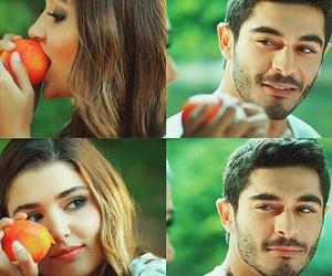 hande erçel, murat, and hayat image