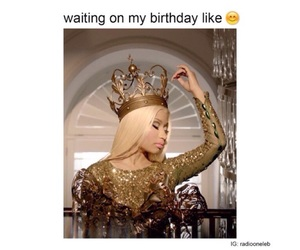 birthday, blonde, and crown image