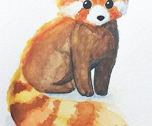 art, animal, and fox image