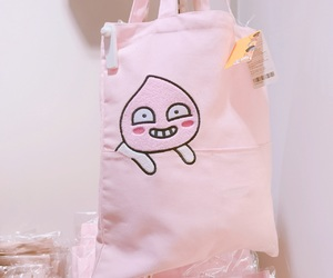 ecobag, peach, and pink image