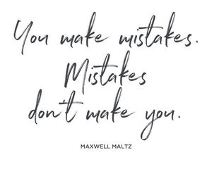 mistakes, quotes, and inspiration image