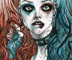 harley quinn, art, and suicide squad image