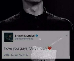 love, shawn mendes, and boy image