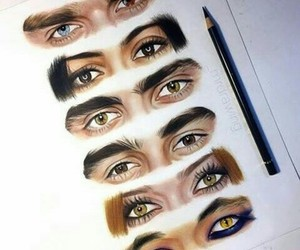 eyes, serie, and alec image