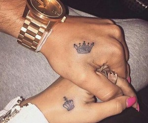 king, Queen, and tatoos image
