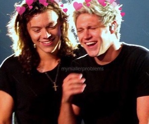 narry, one direction, and niall horan image