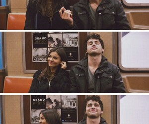 love, couple, and victoria justice image
