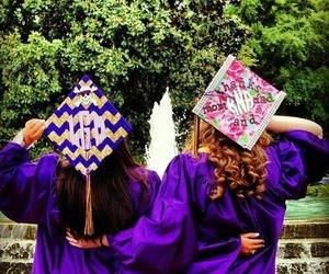 girls and graduation image