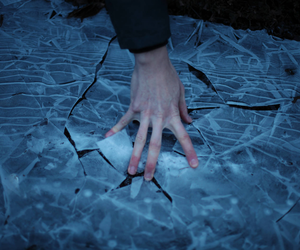 hand, blue, and aesthetic image