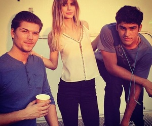 scream, carlson young, and jake fitzgerald image