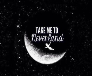 neverland, wallpaper, and moon image