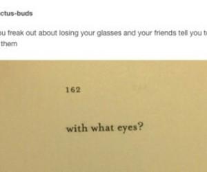 funny, glasses, and haha image