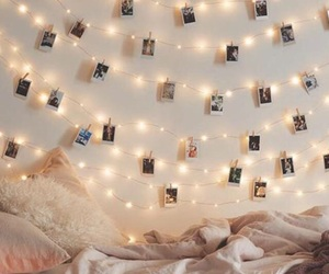 lights, tumblr, and room image