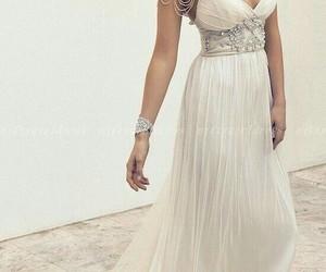 Blanc, brunette, and dress image