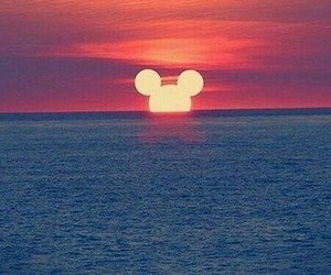 colours, sunset, and disney image