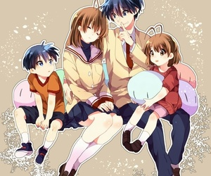 anime, family, and clannad image