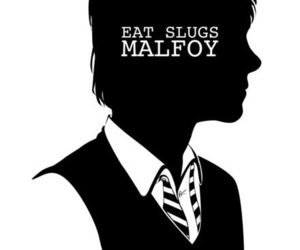 harry potter, book, and malfoy image