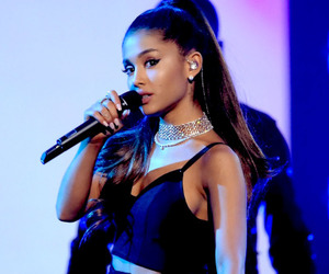 ariana grande and music image
