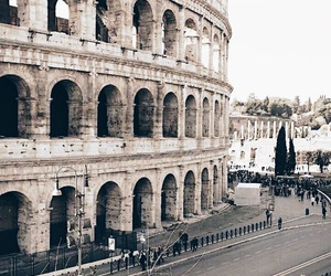 cities, spring, and colosseum image