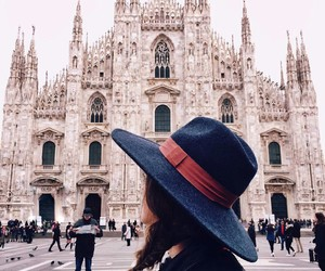 girl, italy, and milano image