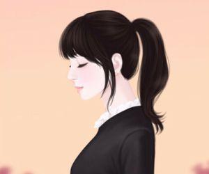 Enakei, art, and lovely girl image