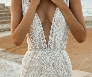 wedding, weddingdress, and bridalstyle image