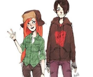robbie, wendy, and gravity falls image