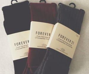 socks, fall, and fashion image